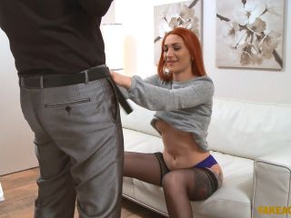 Luna Melba Redhead Prefers Cock Over Pussy